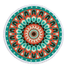 Wholesale Colorful Thick Mandala Round Beach Towels
