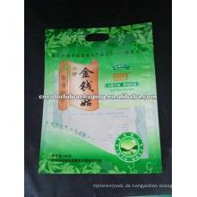 Getrocknete Pilzbeutel mit 1 Trageöffnungen oben / Werbepackbeutel aus Kunststoff