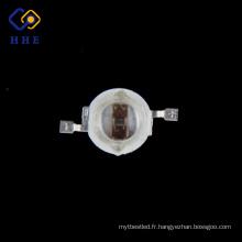 Le bleu de la puissance élevée LED 5W a mené les doubles puces 460-470nm