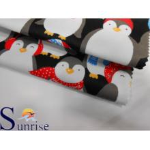 Impreso de algodón tela de franela (SRSC 642)