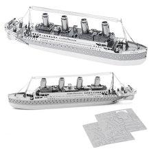 Обучающие DIY блоки Titanic 3D Puzzle игрушки