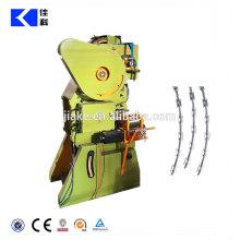 Machine de fil de fer barbelé de rasoir galvanisé à chaud
