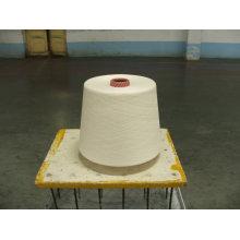 hilo de algodón blanco