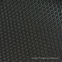 Hebei Facory Price noir anti-dérapant en caoutchouc feuille / tapis