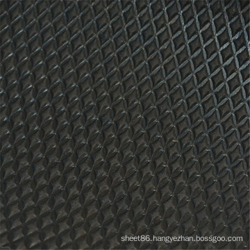 Hebei Facory Price Black Anti-Slip Rubber Sheet / Mat