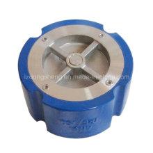 Ferro fundido ANSI 125lb / DIN Pn16 Tipo Wafer Válvula de retenção silenciosa