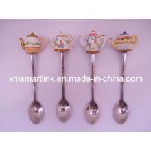 Souvenir Tea Pot Decor Tea Spoon