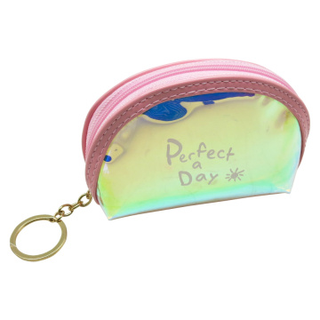 COLORFUL LASER COIN PURSE KEYRING-0