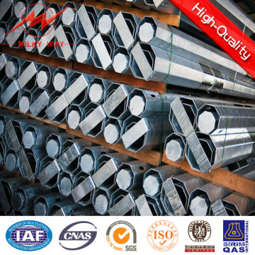 2016 Treated Electric Steel Pole for Philippines 35FT