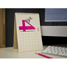 2017 Best Quality Custom Desk Calendar Printing