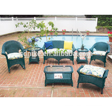 2014 hot sale latest design high quality colorful eco-friendly rattan child salon furniture