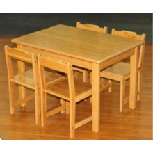 Bamboo Learning Desk Study Table Playing Table Kids Childrentable