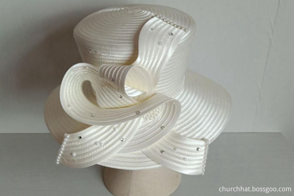 Satin Church Hats
