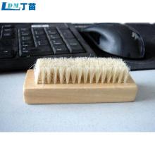 vários estilos escova de prato de madeira durável à prova de poeira