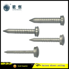 Reusable Stainless Steel Screw Thread Thorasic Chest Trocars
