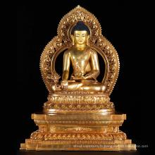 statue de haute qualité de siddartha gautam bouddha du népal