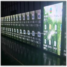 Mostrar tela de LED transparente P10.4 interna