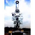 Große Farbe Schüssel Glas Handwerk Aschenbecher Shisha Huka Borosilikat Recycler Glas Wasserpfeifen Inventar für Tabak Rauchen Huka