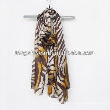 мода леопарда печатных шарф