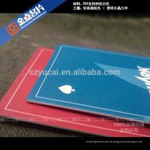Kundenspezifische Form Buchdruck Papier Luxus Visitenkarte Design Drucker