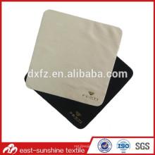 Ткань для микроволоконной линзы Индивидуальный золотой тисненый логотип; Очищающая салфетка Golden ImpressedMicrofiber для солнцезащитных очков