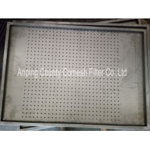 Welding Stainless Steel Perforated Filtering Trays