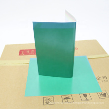 Faster exposure positive green offset printing ps plate