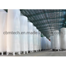 Top Tank Equipment Pressure Vessel Cryogenic Liquid Storage Tank