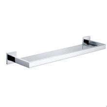 Wall Mount Chrome Bathroom Glass Shelf