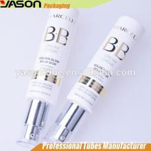 Yason tubos de plástico para BB o CC crema