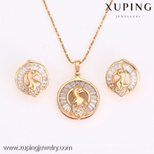 62638-Xuping Fashion Woman Jewlery avec plaqué or 18 carats