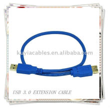 Super Speed ​​USB 3.0 Extensão M / F