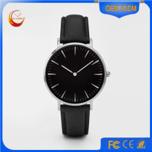Ladies Vogue Alloy Case PU/Artificial Leather Strap Watch