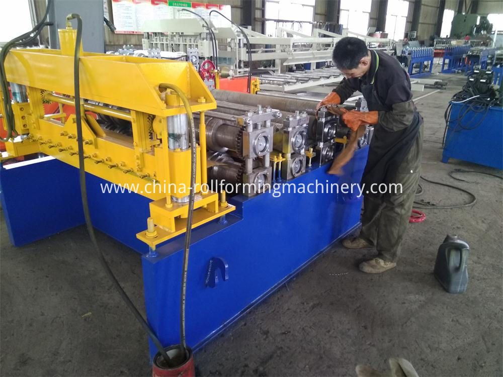 Strong Body Slitter Roll Forming Machine