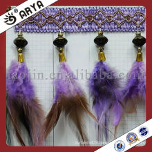 New Product Feather Fringe For 2014 Curtain Decor Textile Accessory