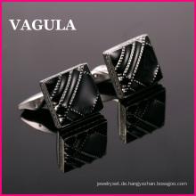 VAGULA Qualität französische Manschettenknöpfe Emaille (L51422)