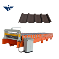 Color steel roof tile making machine