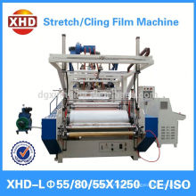 transparent pe stretch film machine