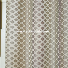 Good quality 100% for Classic Shower Curtains 100% Polyester Twisted Yarn Window Curtain Fabric supply to Singapore Factory