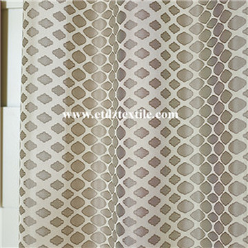 100% Polyester Twisted Yarn Window Curtain Fabric