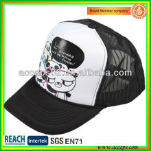 Two-tone Silk Screen Mesh Caps TC-1019