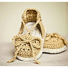 Newest 2016 Baby Girl Crochet Knitted Sandals Shoes