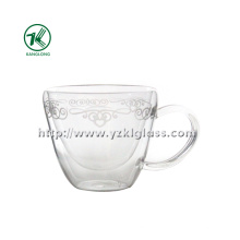 Clear Double Wall Water Cup par SGS ... (14 * 10 * 9)
