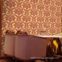 Mosaic Design Interior Decor Metallic Wallpaper