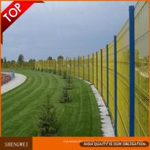 Высокое качество безопасности ПВХ Садовый декоративный искусственный забор
