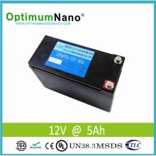 La batería para portátil LiFePO4 12V 15ah más liviana