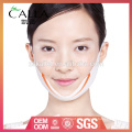 2017 hot style v lined face mask with long service life