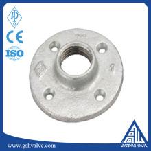 """China fornecimento de flange de piso de ferro maleável galvanizado personalizado 1/2 """"1"""" 3/4 """"com alta qualidade"""