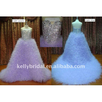 Heavy Craftwork with Shiny Crystal Just See the Larger Picture Wedding dress 2011 crystal