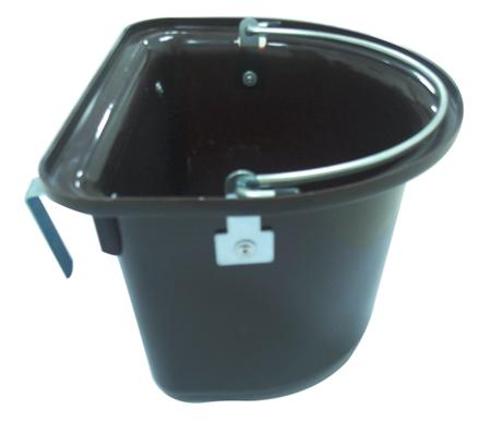brown horse bucket